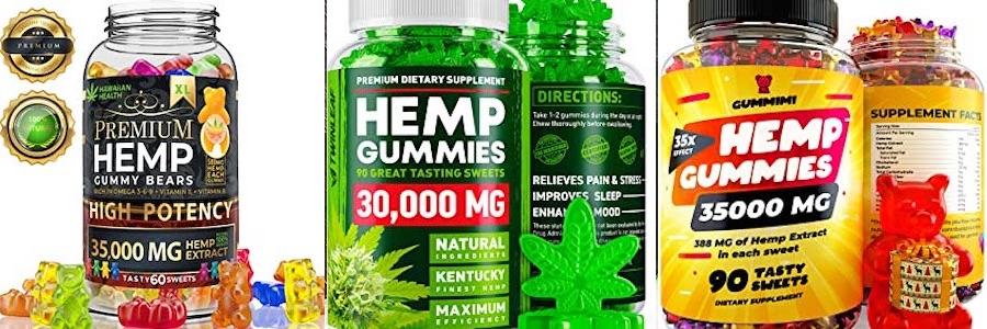 アメリカで販売されている高濃度のCBD gummies2