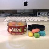 ヘンプベイビー CBDグミ|カラフルなグミは懐かしいキャンディーの味