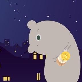 10種類のCBDグミを7つの観点からランキング メダルを持った不眠症のクマのイラスト