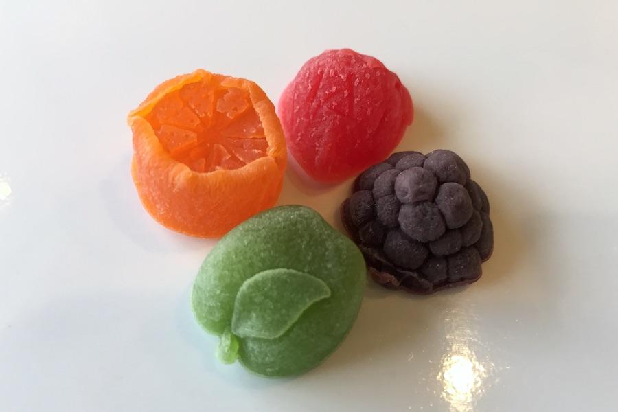 CBDグミは食べてみなければ分からない 見た目もフルーツ感たっぷりのCBDグミの写真
