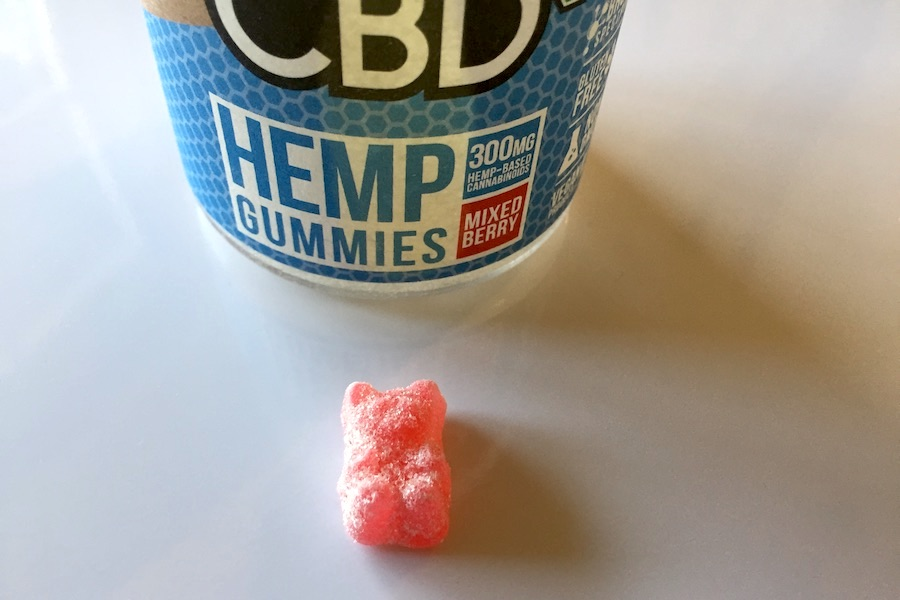 CBD fx HEMP GUMMIES の写真