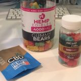 gummy bearsとCBDfx Gummiesの比較写真