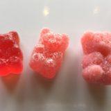 赤い3種類のCBDぐみ