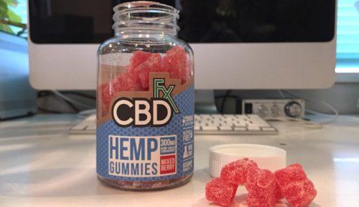 CBDfx グミ はイケる味|フルスペクトラムCBDの苦美味しさが癖になる