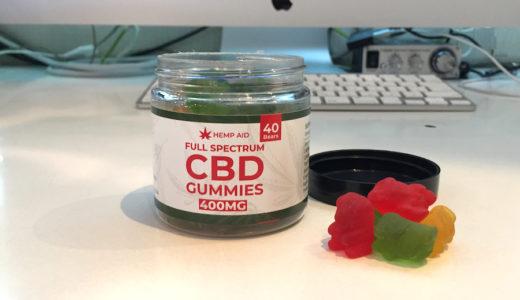 HEMP AID フルスペクトラムCBDグミ |アメリカ製の甘い香りと即効感