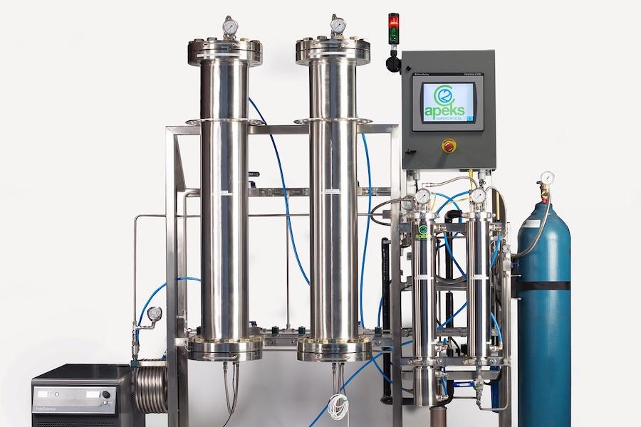 化学物質を溶媒として利用する装置