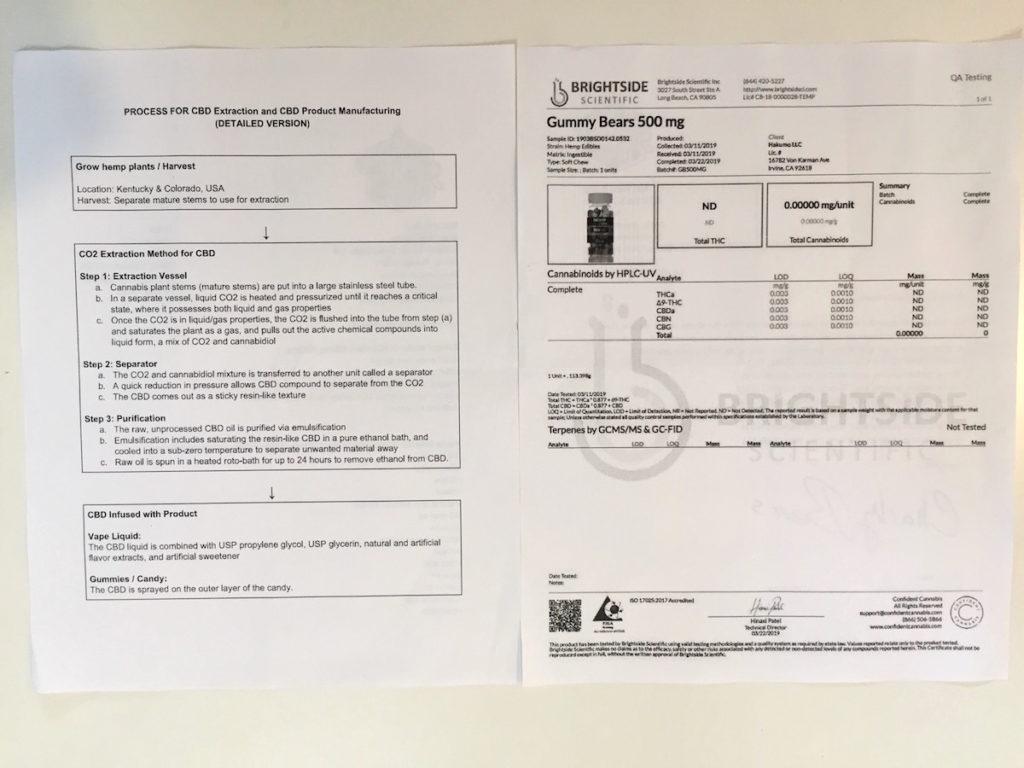 検査機関による分析表2