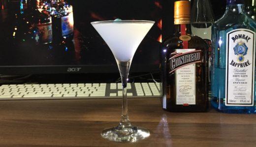 家飲みカクテル|おすすめは雪のように白いホワイト・レディ